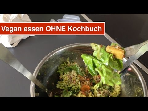 vegan essen ohne kochbuch youtube. Black Bedroom Furniture Sets. Home Design Ideas