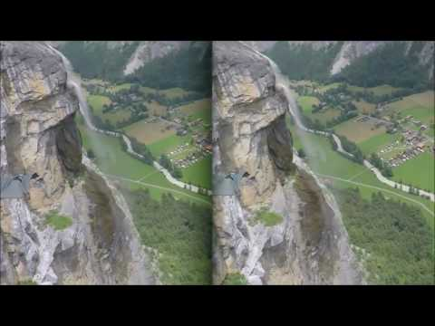 3D Wingsuit in the Alps