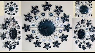 Dollar Tree DIY Plastic Spoons Wall Clock Decor 2019