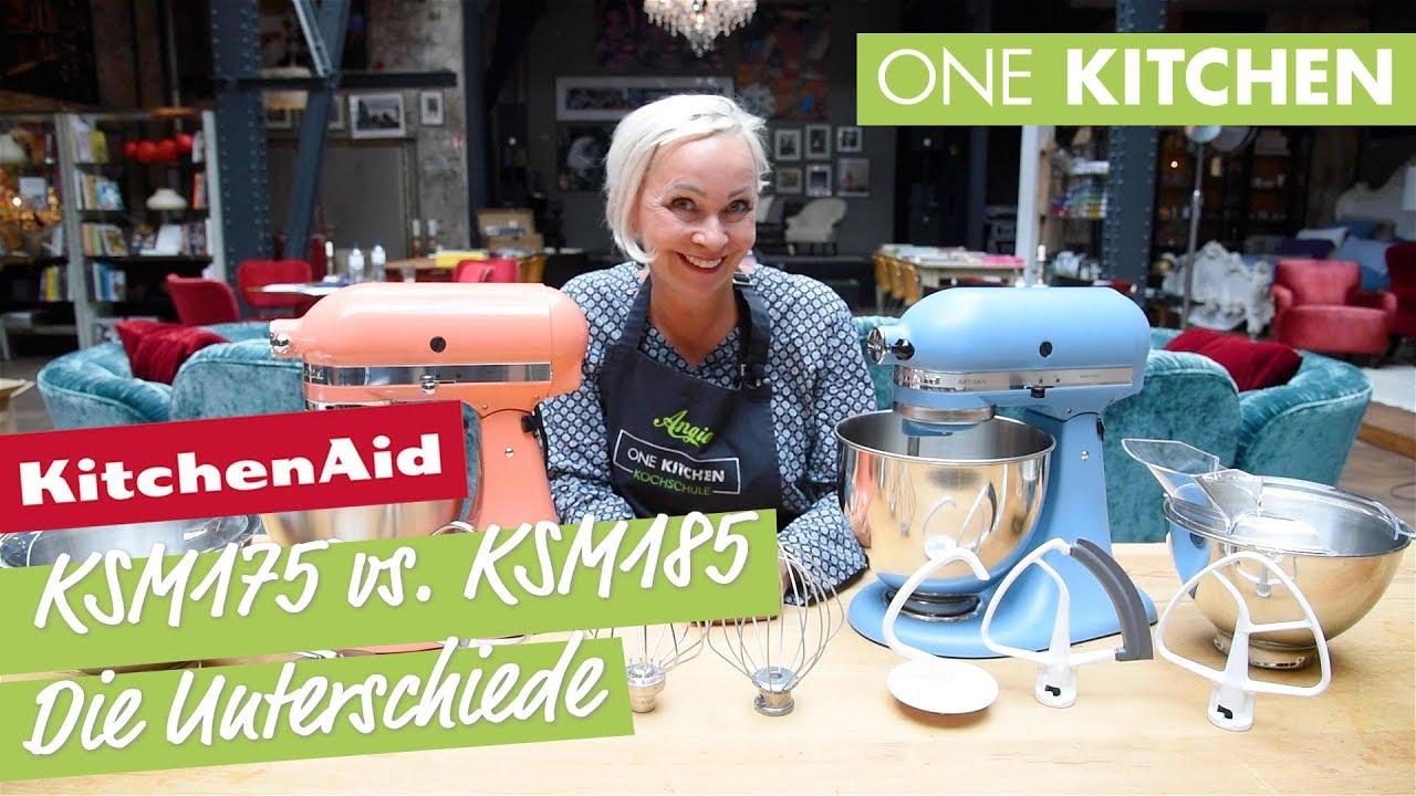 Unterschiede Kitchenaid Artisan Ksm175 Vs Ksm185 By One Kitchen