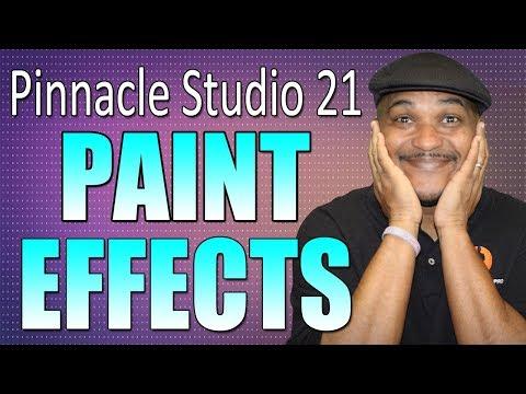 Pinnacle Studio 21 Ultimate   Paint Effects Tutorial