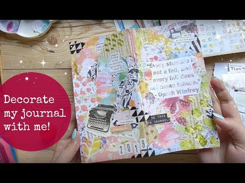 📕✨ DECORATE my journal with me! 🌷// Is keeping a journal a waste of time? + LoveLynnsLife