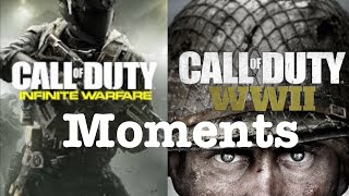 Call of Duty Infinite and WW2 Moments(Epic and Funny)   All Games