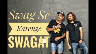 Swag Se Swagat Dance Choreography | Tiger Zinda Hai | Salman Khan | Katrina Kaif