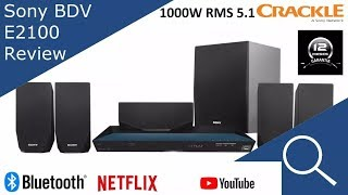 Home Theater Sony Bdv E2100 5.1 1000W Rms (850w real) 3d wifi netflix youtube internet browser