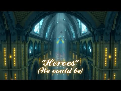 Heroes A Minecraft Music   Alesso Heroes We could be