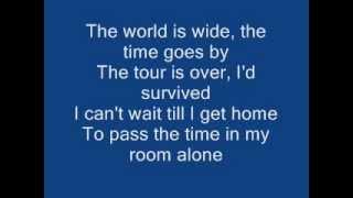 Blink 182 Adam's Song Lyrics