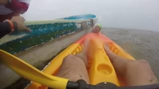 Salvando nadadores en mar abierto Coatzacoalcos