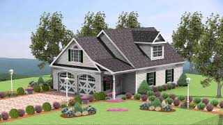 House Designs With 4 Car Garage