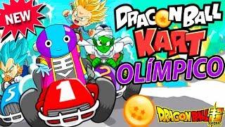 EL JUEGO DRAGON BALL SUPER RACING OLIMPICO | Goku Dragon Ball Kart | ManoloTEVE
