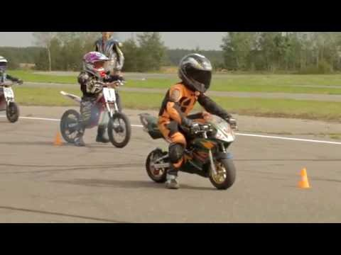 Мини Мотоциклы для детей - Смотреть видео без ограничений