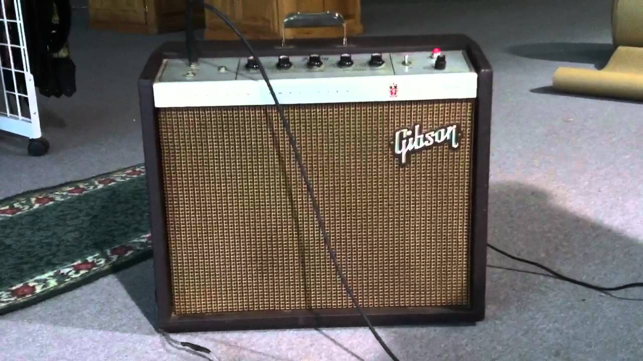 Gibson Tube Amplifier Free Download This Picture Is A Preview Of Ga20rvt Schematic Falcon Amp Youtube