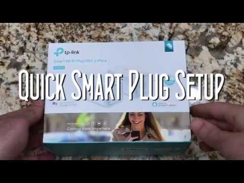 Connecting TP Link smart plug HS105 to Alexa Echo and Kasa app