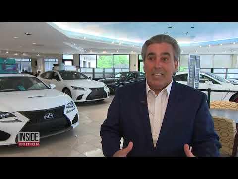 Tom Maoli CEO of Celebrity Motor Cars on Inside Edition 9/3/2020