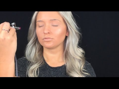 Summer Look Using Luminess Airbrush Makeup