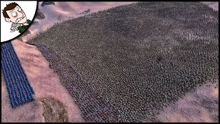 Massive 30000 Zombie v Crusader Army Survival Battle - Ultimate Epic Battle Simulator Gameplay