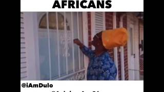 How Americans vs Africans knock on the door