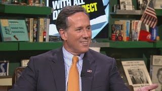 Rick Santorum Reacts to Skeptical Iowans