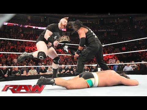 Roman Reigns vs. Rusev: Raw, November 23, 2015