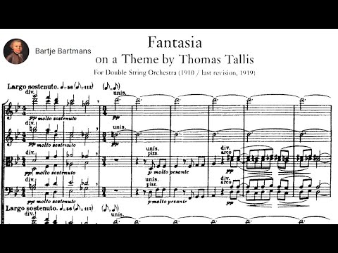 Vaughan Williams - Fantasia on a Theme by Thomas Tallis {One of the best performances ever!!}