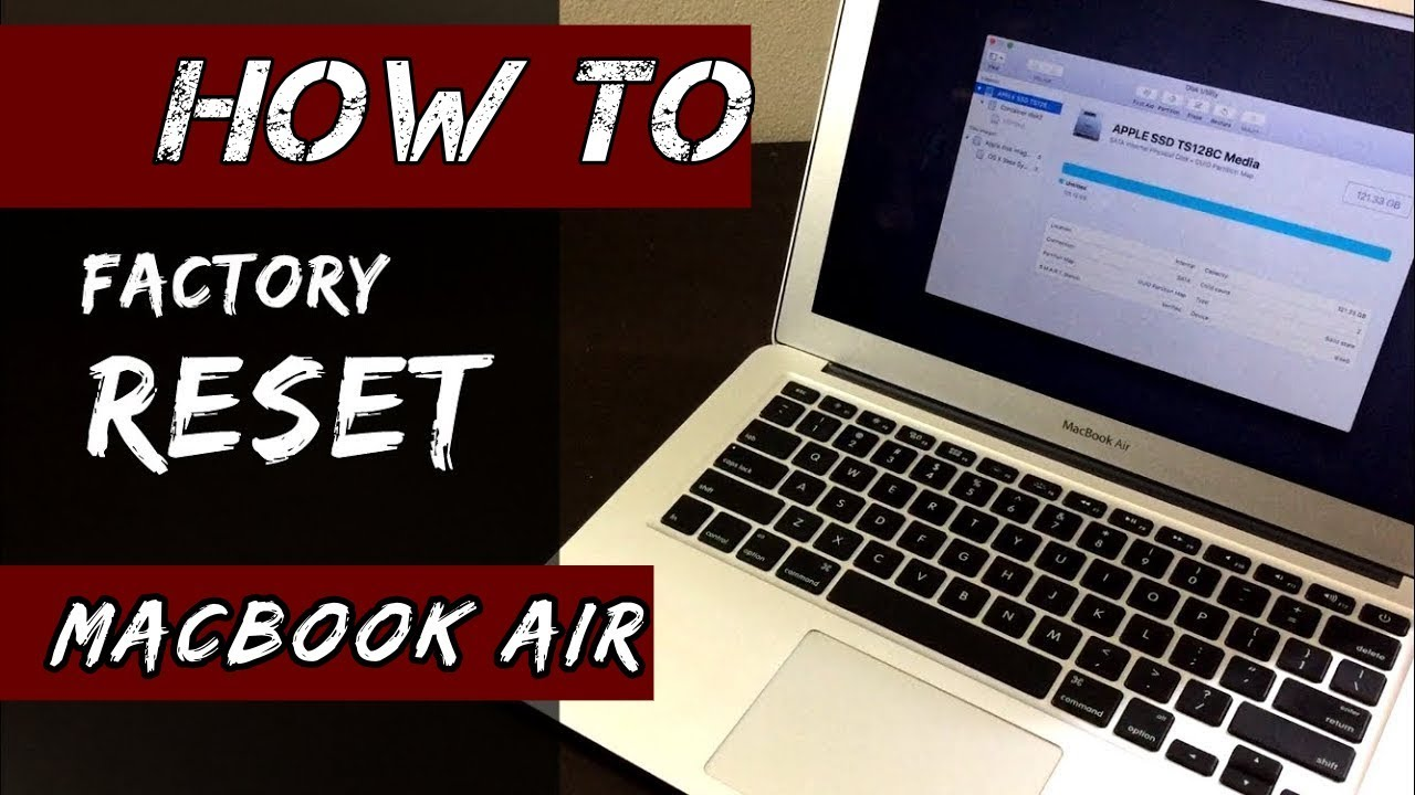 HOW to Factory Reset MacBook Air [21-21]