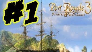Port Royale 3 Let's Play Gameplay Walkthrough Part 1 Tutorial Missions (English)