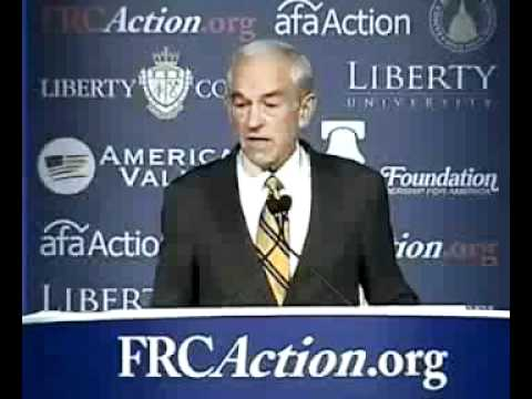 Ron Paul, Gordon B. Hinckley, The Family A Proclamation to the World