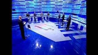 Дебаты 2018 на Первом Канале 28.02.2018 0805