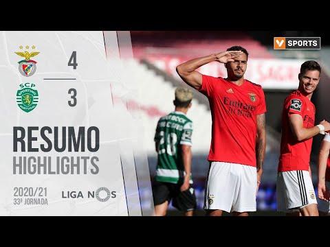 Highlights | Resumo: Benfica 4-3 Sporting (Liga 20/21 #33)