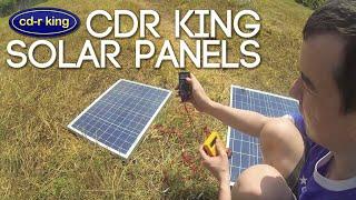 cdr king solar panels