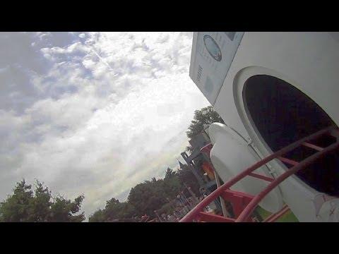 Rollerskater Front Seat On-ride HD POV Plopsaland De Panne