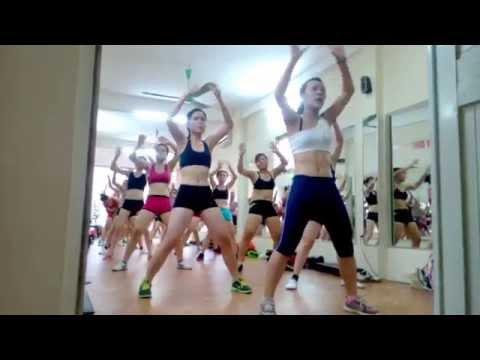 Thể dục thẩm mỹ - Aerobics - Bài Giật (Hằng Lady)