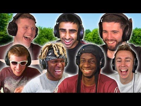 ALL 7 SIDEMEN IN A GOLF VIDEO!? FIRST TIME EVER (Sidemen Gaming)