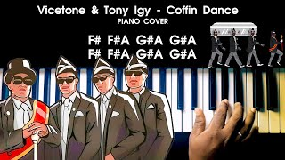 Download lagu Coffin Dance - Vicetone & Tony Igy Indian Version Piano Cover with NOTES | AJ Shangarjan