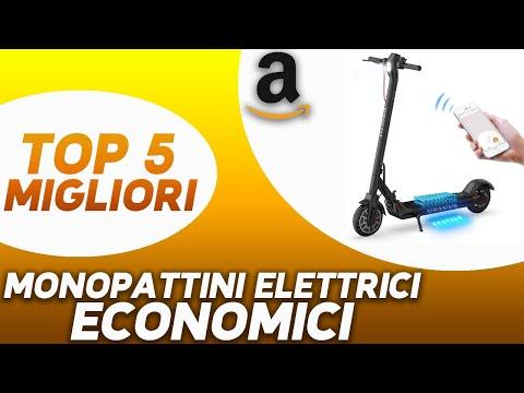✅ TOP 5: Miglior Monopattino Elettrico Economico 2020