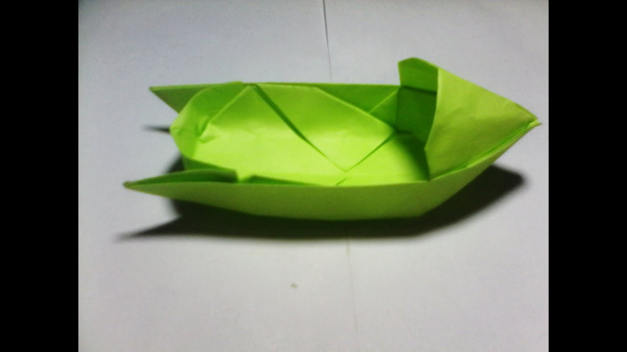 Learn How To Make An Origami Boat In A Few Easy Steps! | 720x1280