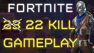 Fortnite - 22 Kill Solo Game   DrLupo