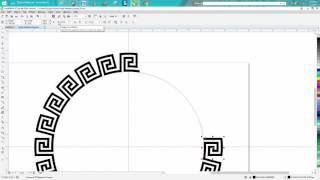 Corel Draw Tips & Tricks Greek Pattern Round simple