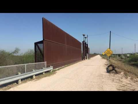 Border Wall McAllen Texas