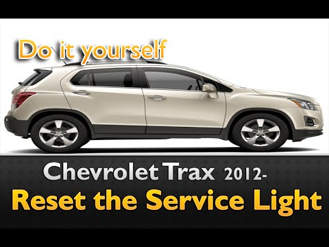 Chevy Trax 2012 Service Indicator Reset Simple Steps Youtube