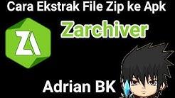 Daftar Cara Mengubah File Zip Jadi Apk Di Android Tutorial Kreasi Kardus Dan Koran Bekas
