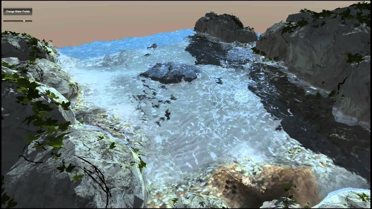 Live Wallpaper 3d Water Unity Realistic Water Youtube