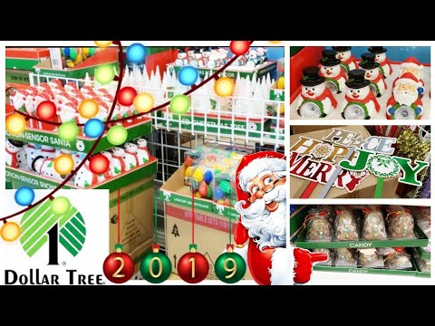 CHRISTMAS AT DOLLAR TREE 🎄 SHOP WITH ME 🎄 NEW ITEMS