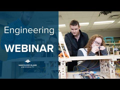 Vancouver Island University - Engineering and Technology Programs Webinar