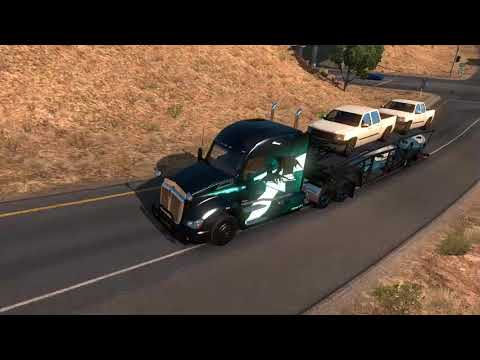 american truck simulator / trabajos world of trucks - youtube