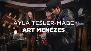 Ayla Tesler-Mabe (Calpurnia) and Art Menezes (GUITAR BATTLE)