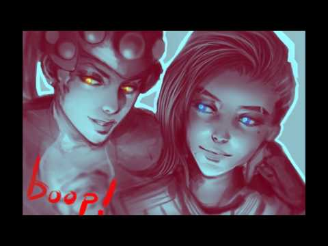 ♥Sombra x WidowMaker - Overwatch - Black Widow (Remix)♥