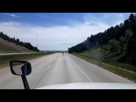 Bigrigtravels Live! Rapid City,  South Dakota to Quinn  Interstate 90 September 3, 2016