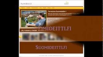 Suomideitti.fi ilmainen seuranhakupalvelu