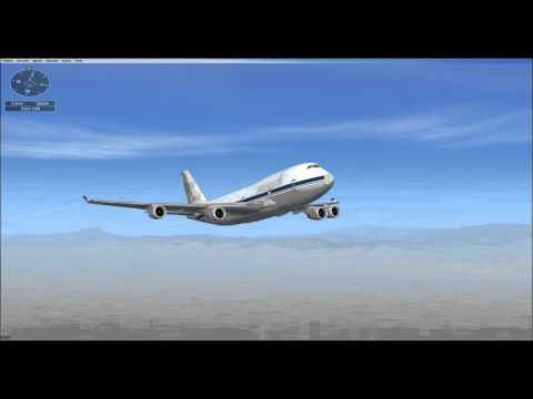 FSX Mission - 747 Test Flight
